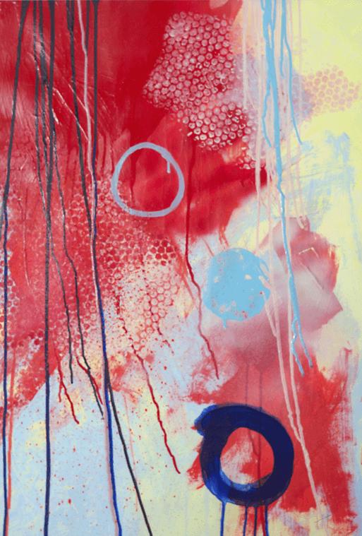 'Appledore' Acrylic /106cm x 80cm (framed) SOLD