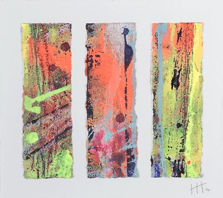 'Untitled' Acrylic /47cm x 47cm (framed) SOLD