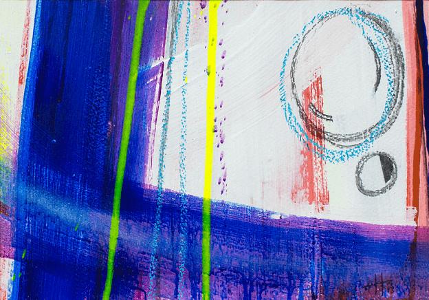 'Contrasts'   Acrylic /  35cm x 49cm   SOLD