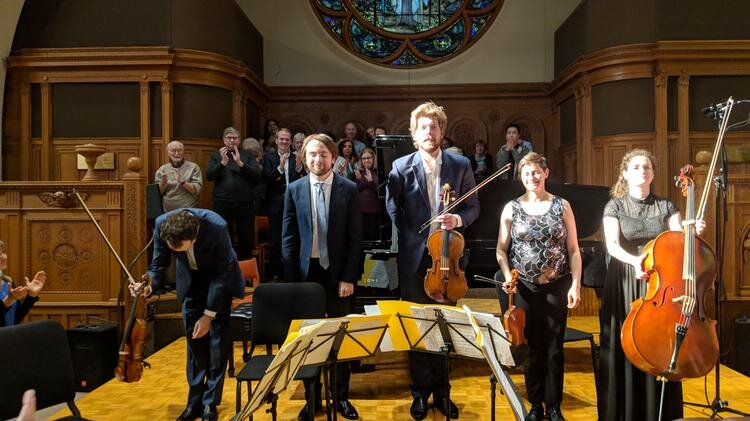 A standing ovation at the premiere of Daniil Trifonov's Piano Quintet