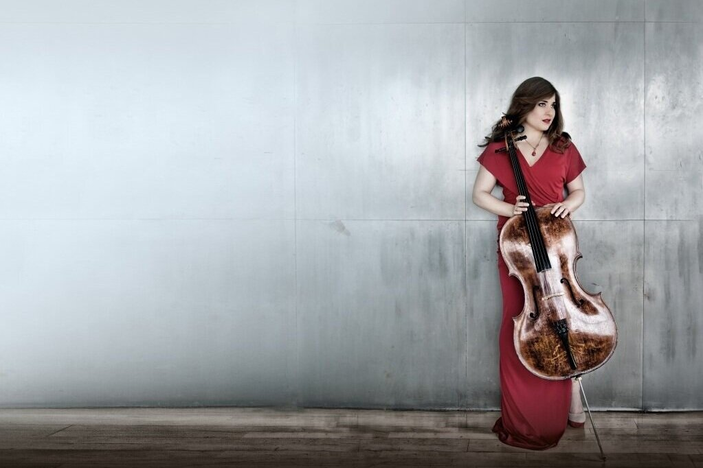 Alisa Weilerstein (photo by Harald Hoffmann)