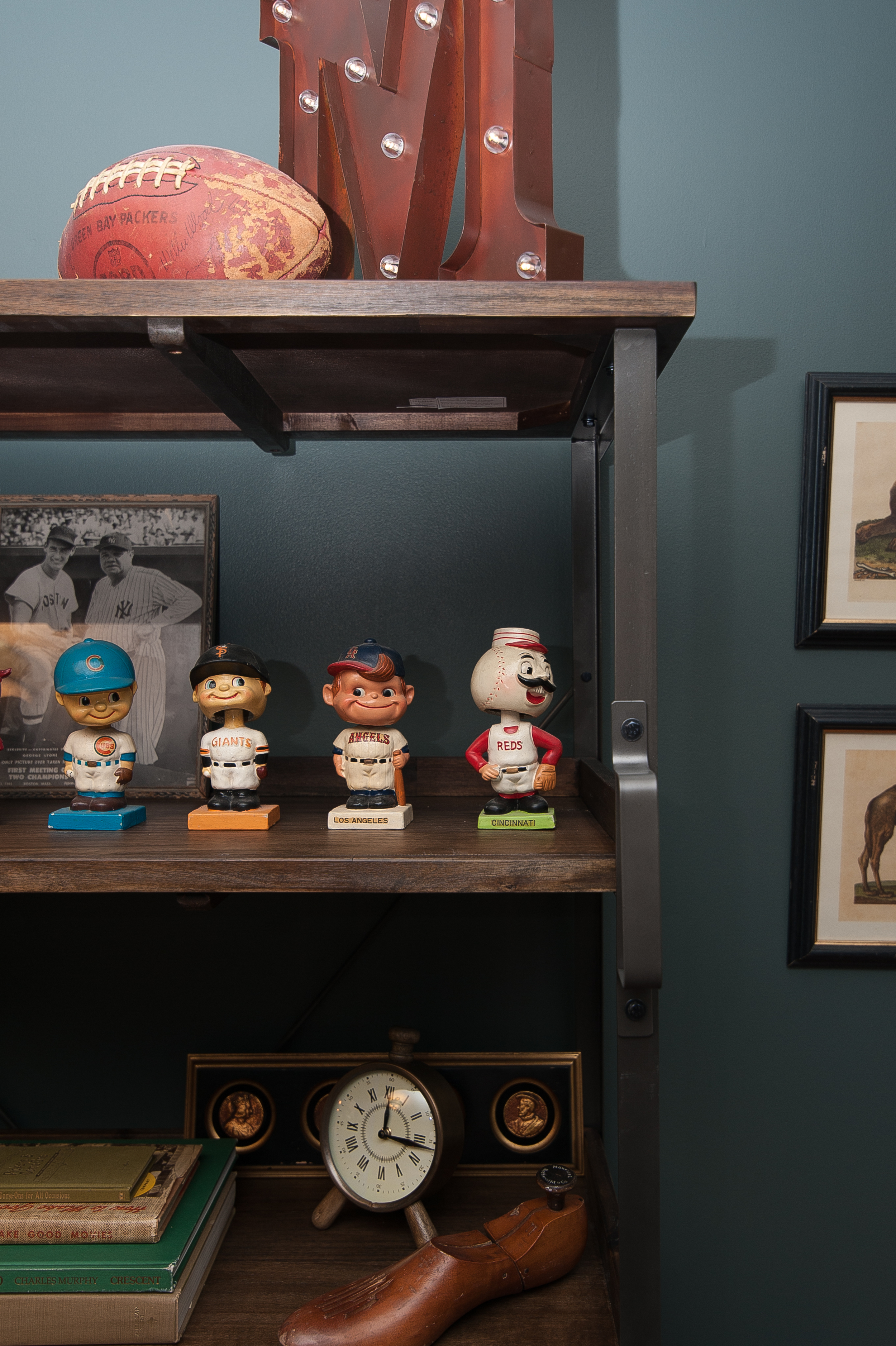 Artful Interiors - Bachelor Pad - Bobble Heads