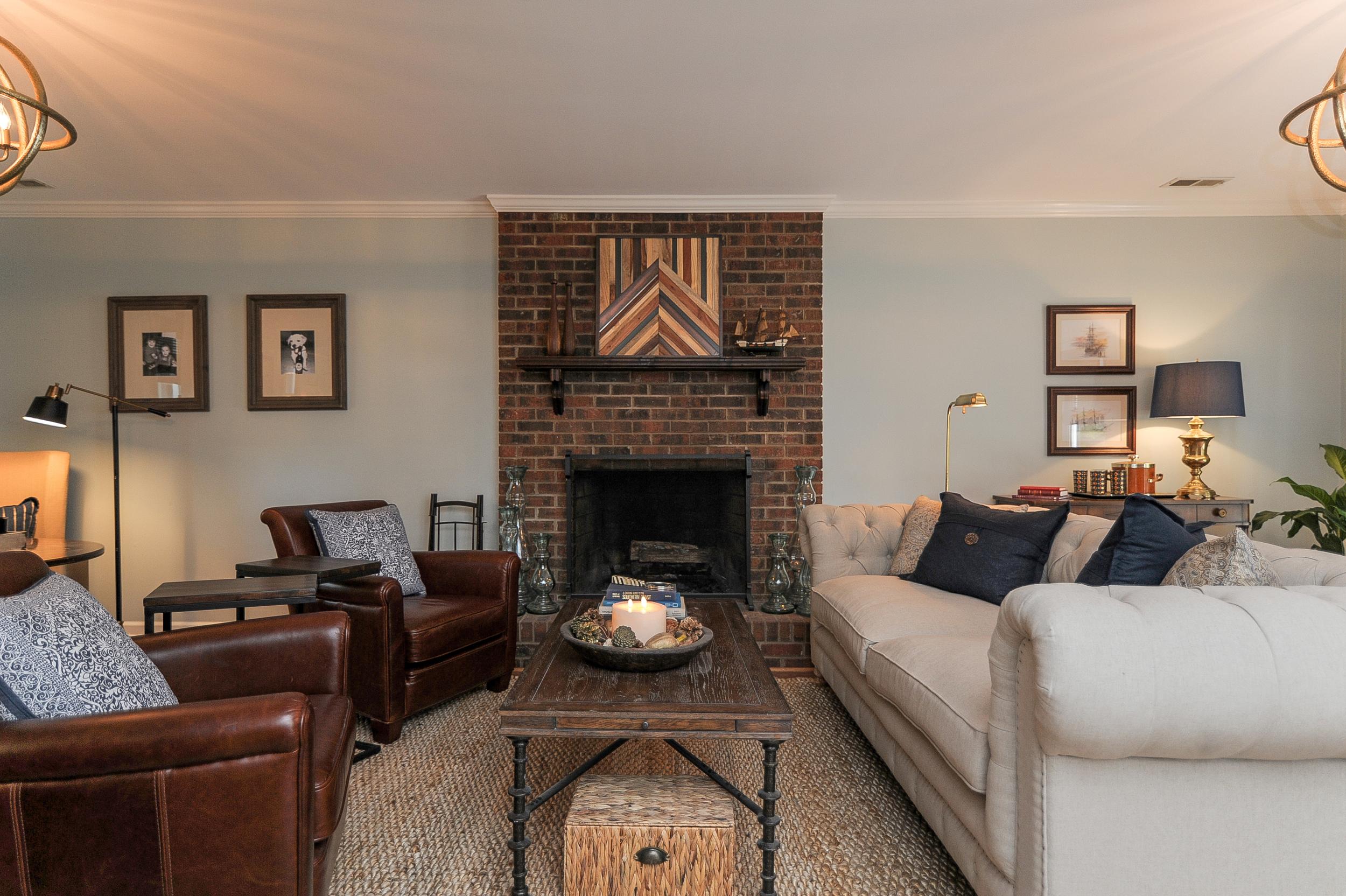 Artful Interiors - Bachelor Pad - Living Room