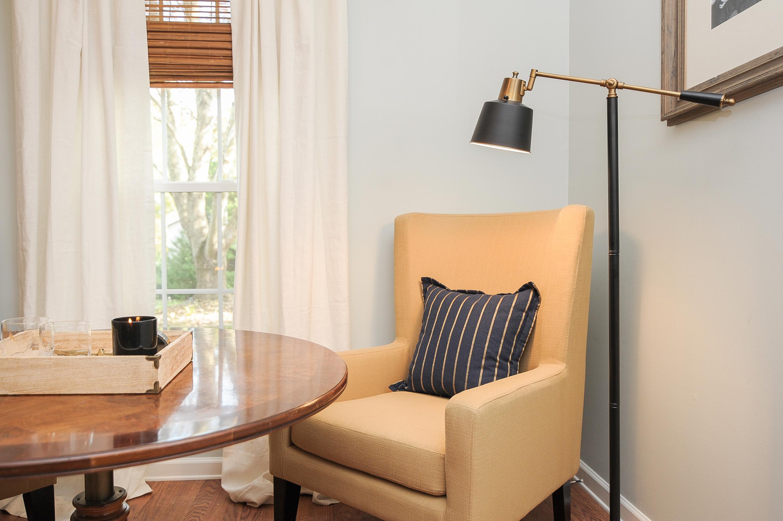 Artful Interiors - Bachelor Pad - Living Room Game Table