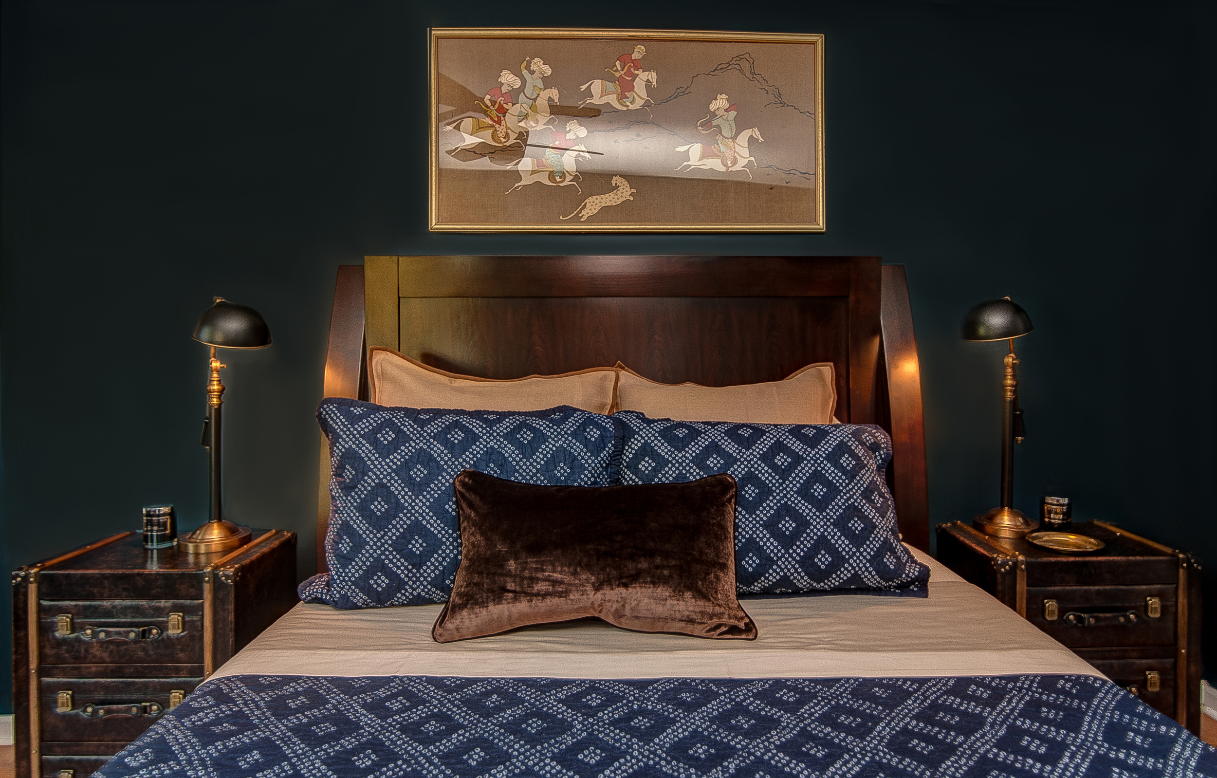 Artful Interiors - Bachelor Pad - Master Bedroom 2