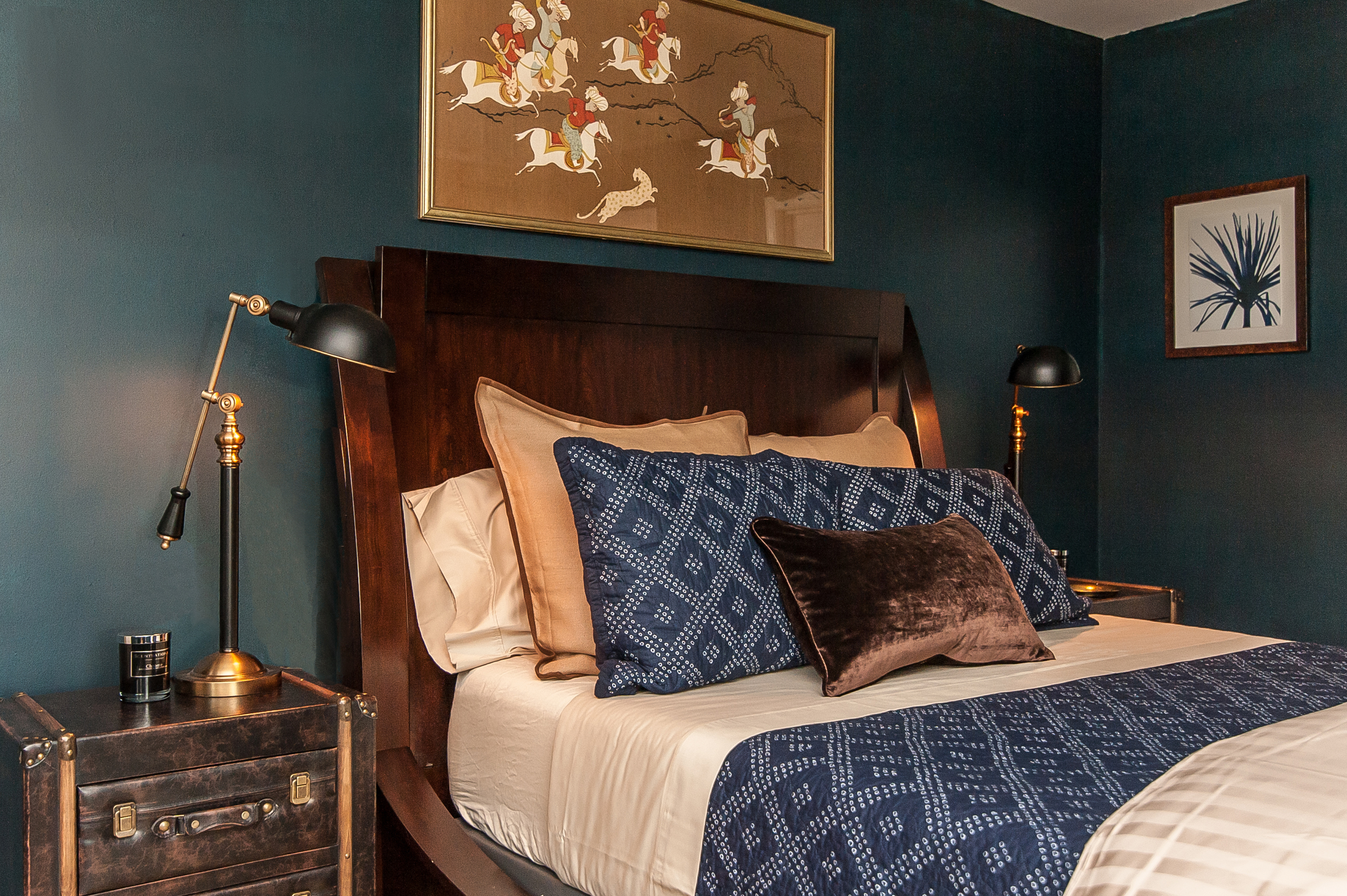Artful Interiors - Bachelor Pad - Master Bedroom 3