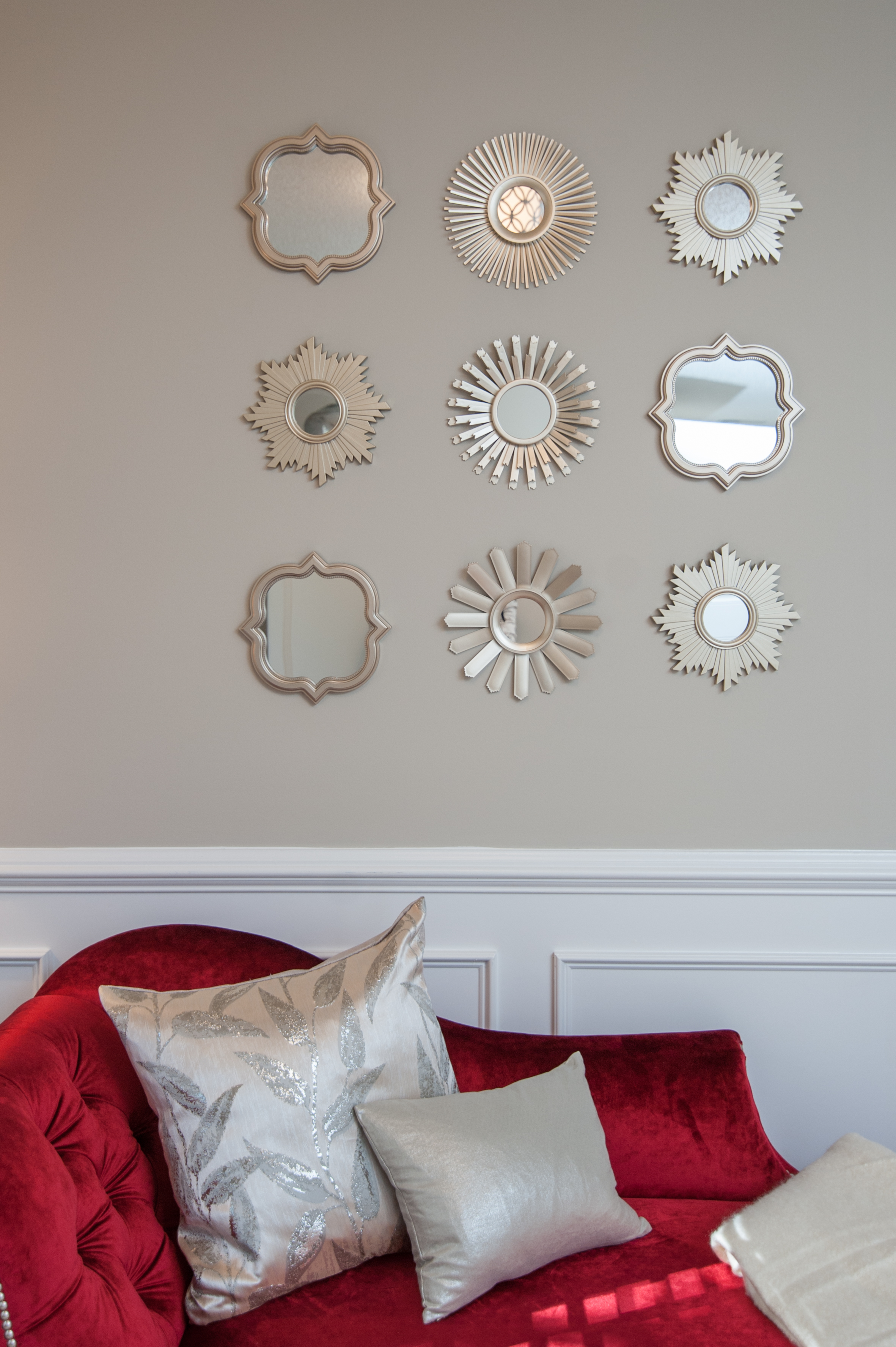 Artful Interiors - Modern Office - Mirrors