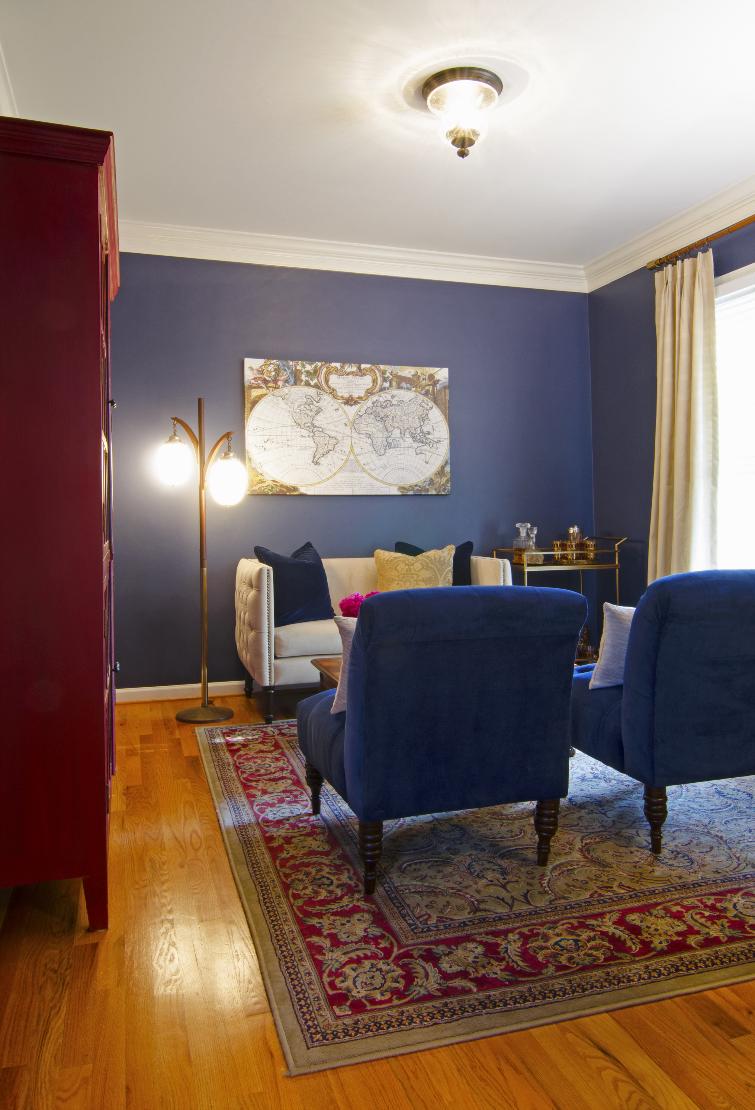 Artful Interiors – First Home - Library