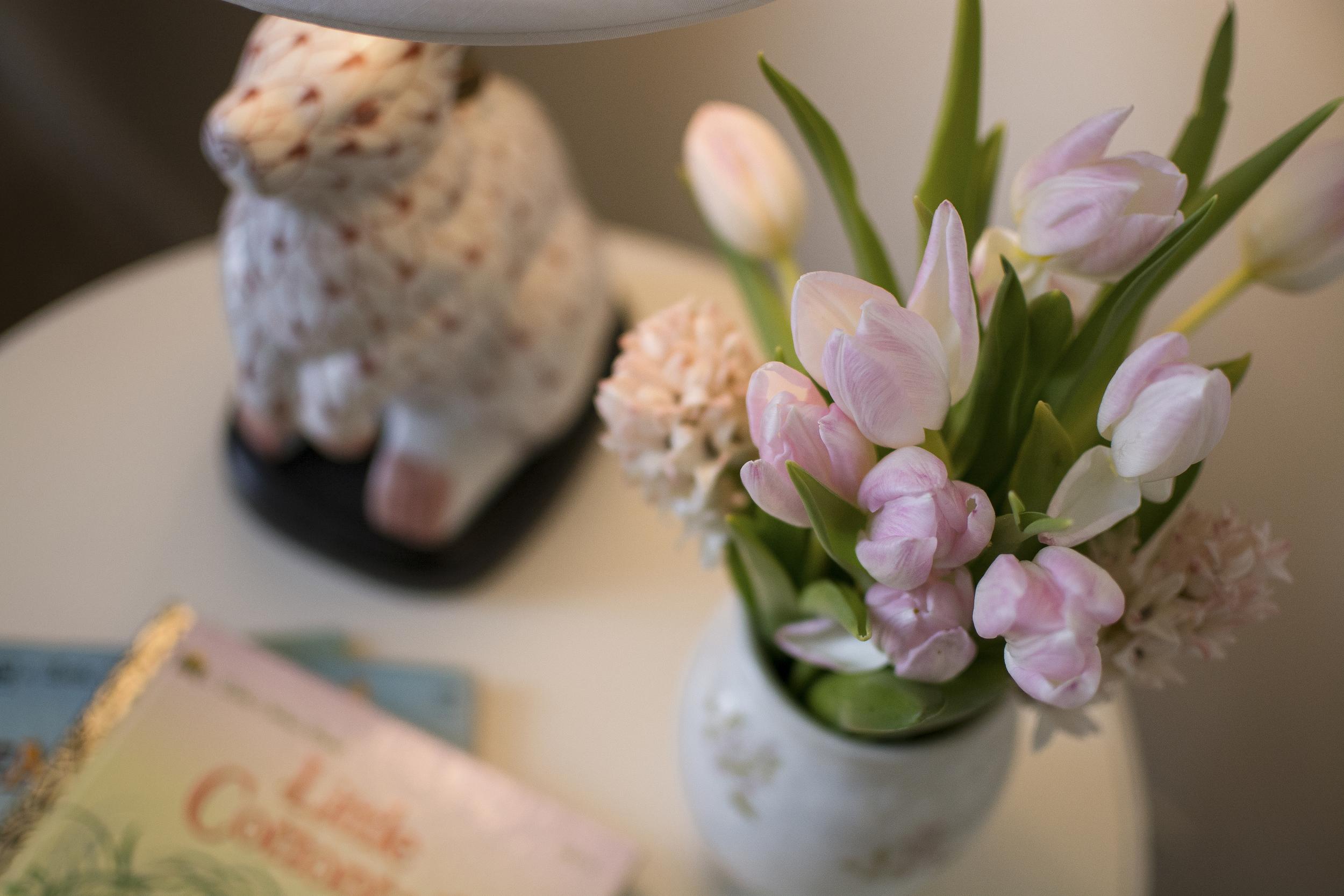 Artful Interiors - Nursery - Tulips