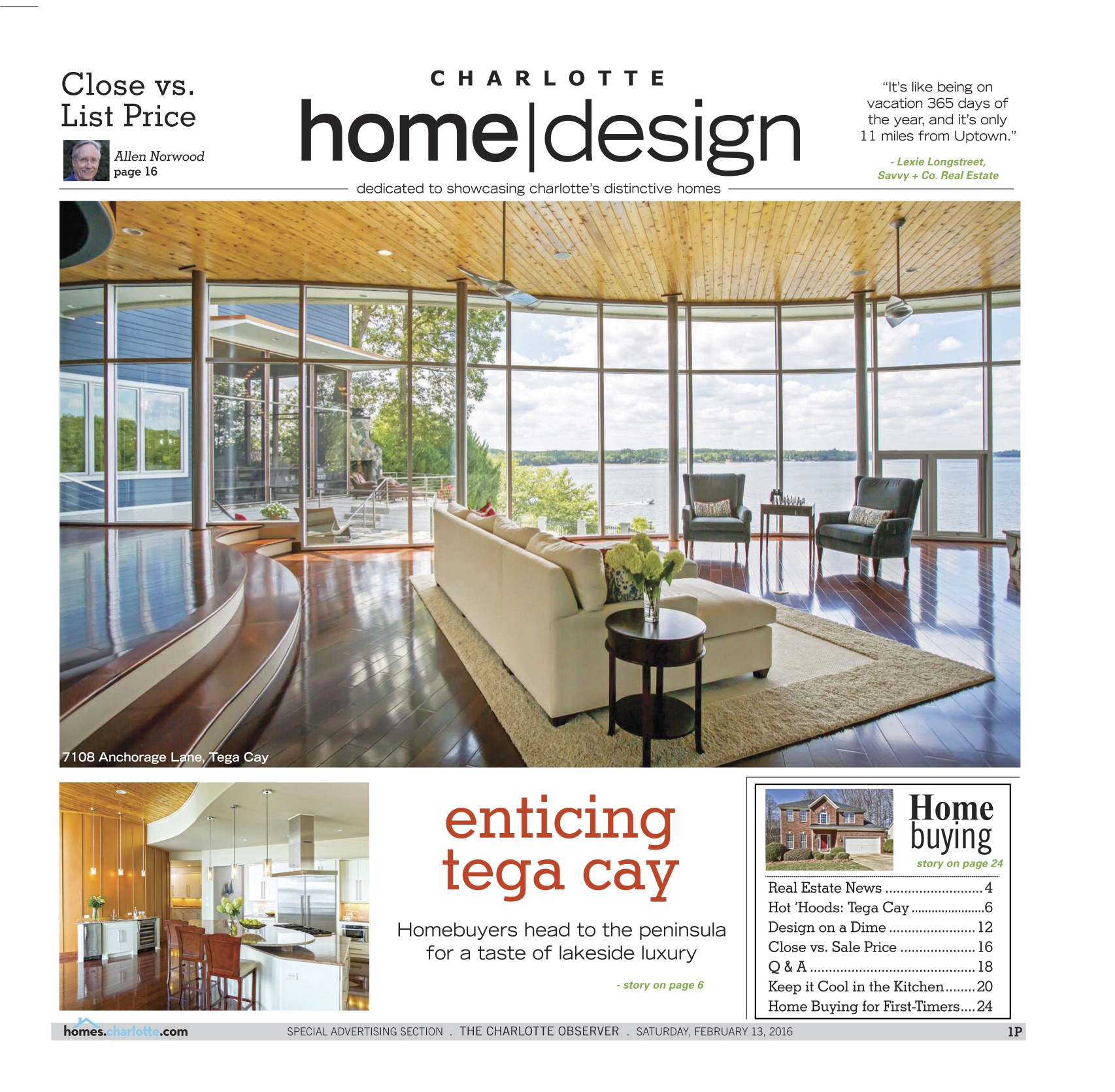 Charlotte Home|Design February 13, 2016