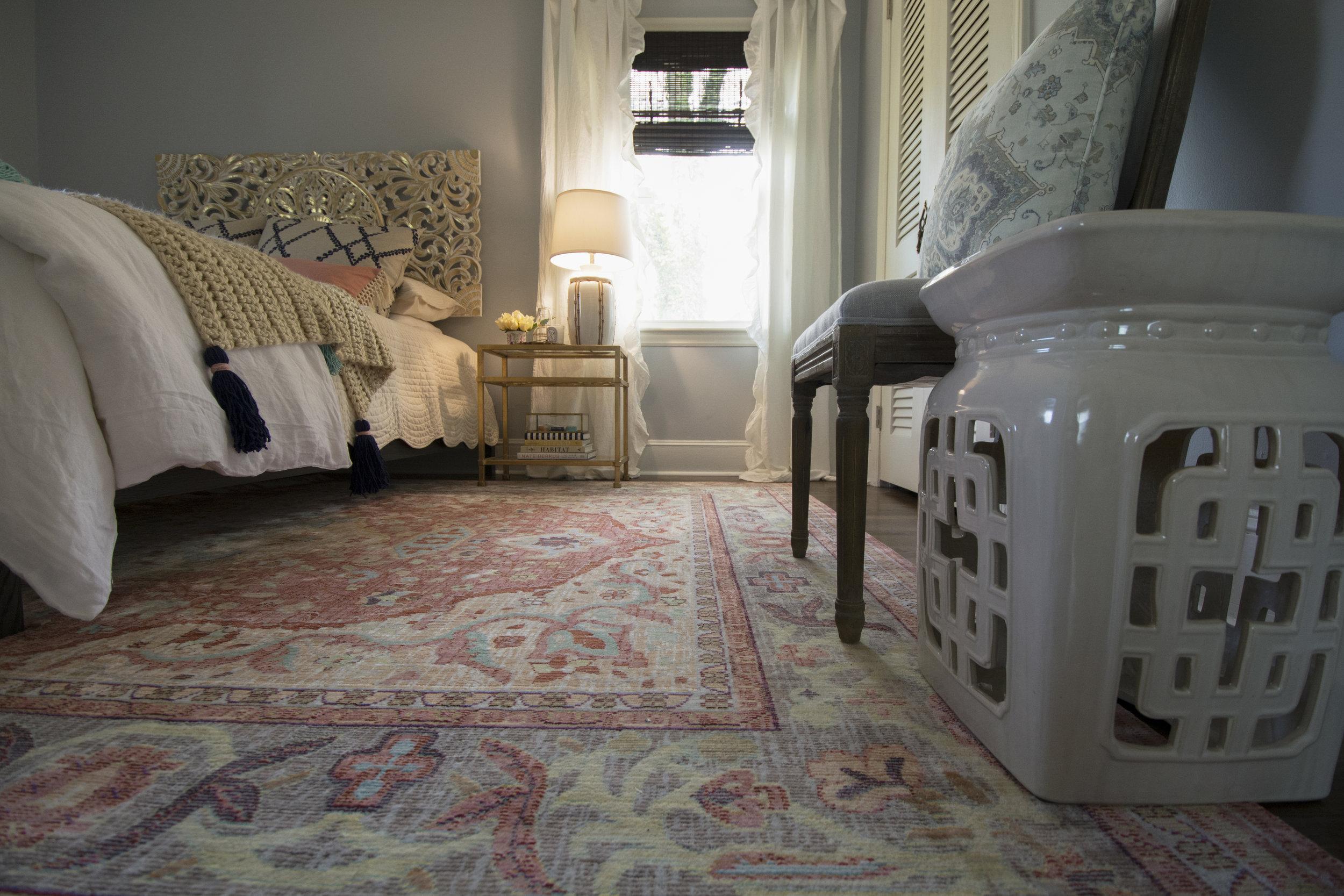 Artful Interiors - Bohemian Bedroom -Garden Stool Room