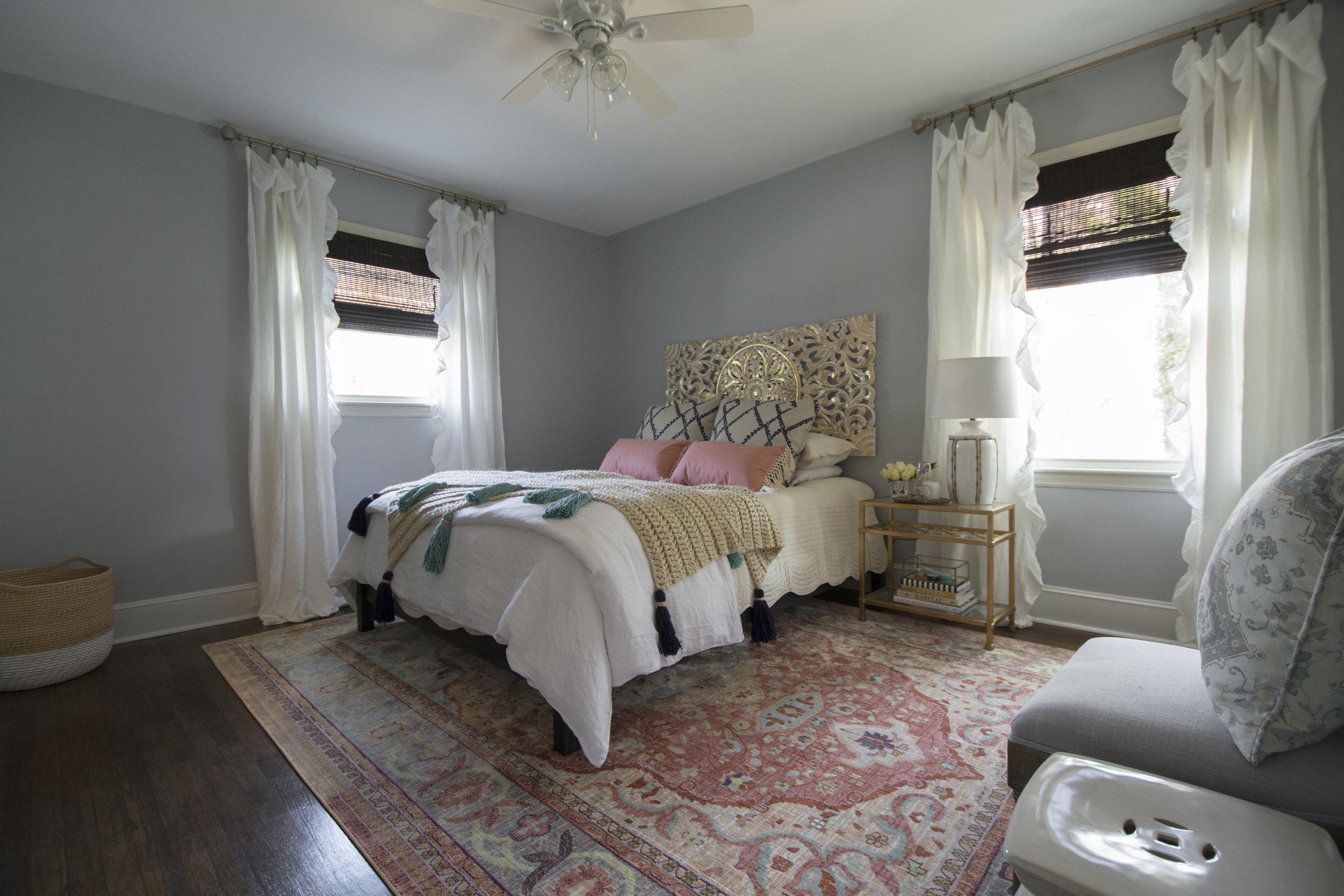 Artful Interiors - Bohemian Bedroom - Full View