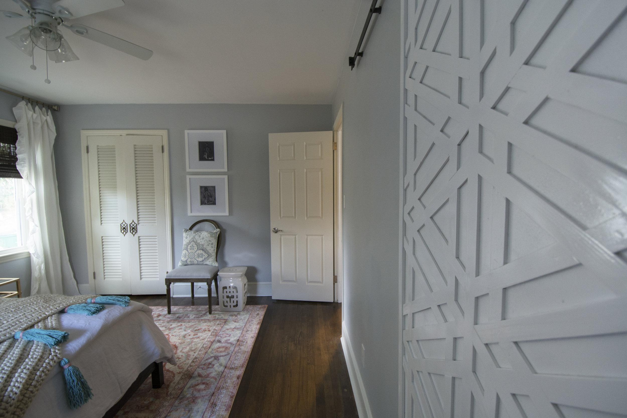Artful Interiors - Bohemian Bedroom - Custom Door
