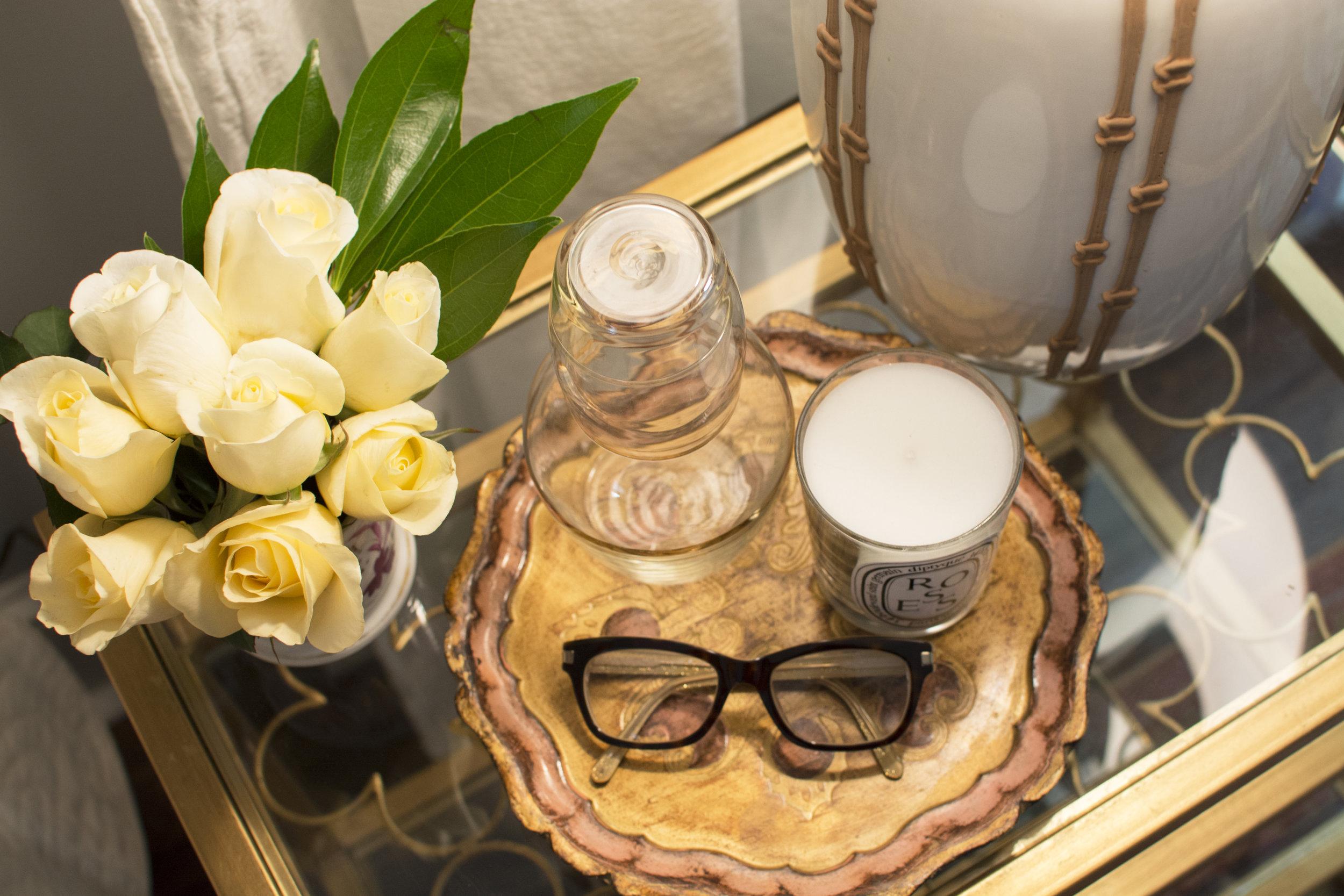 Artful Interiors - Bohemian Bedroom - Styled Nightstand