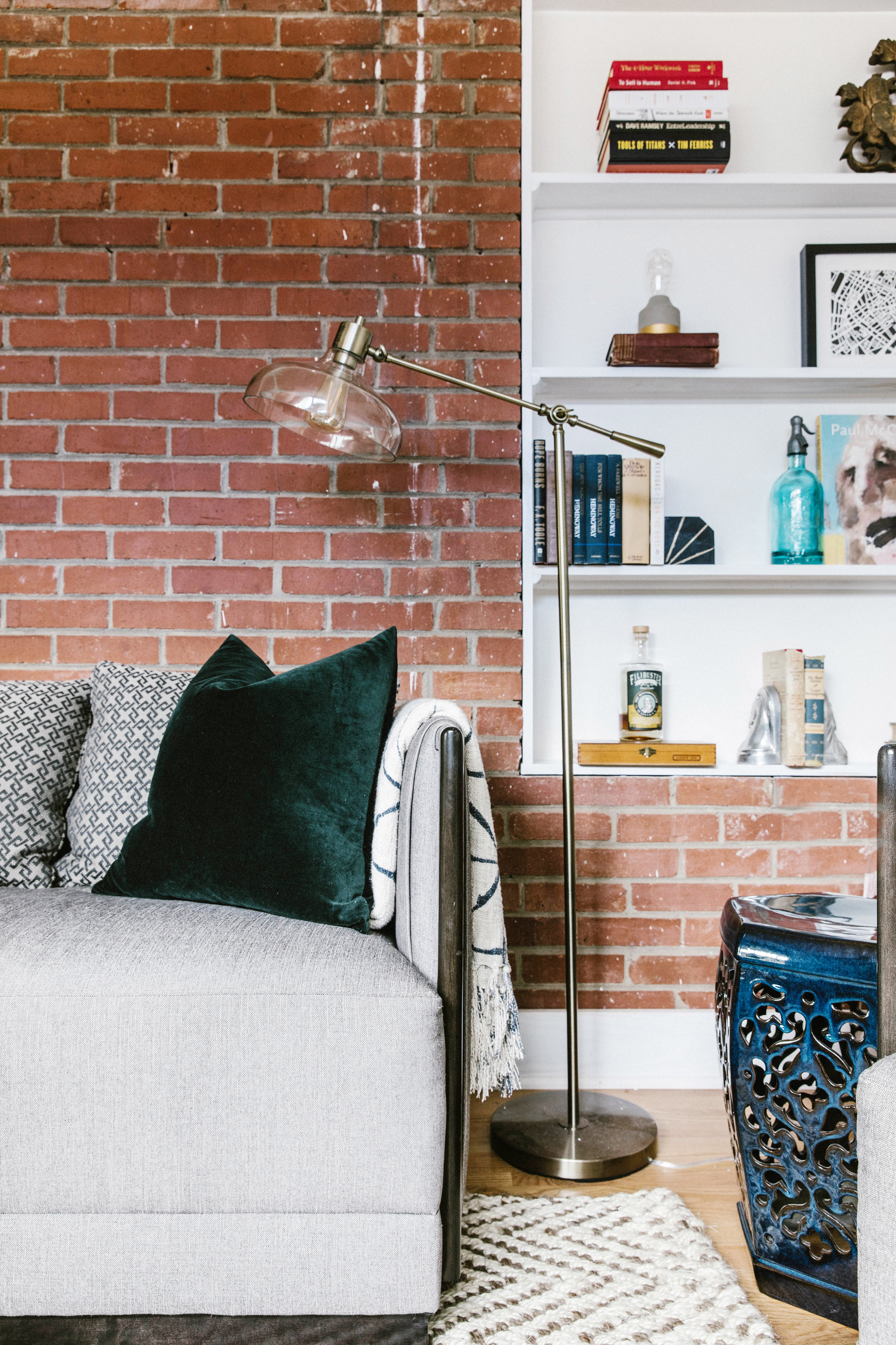 Bachelor Pad Exposed Brick