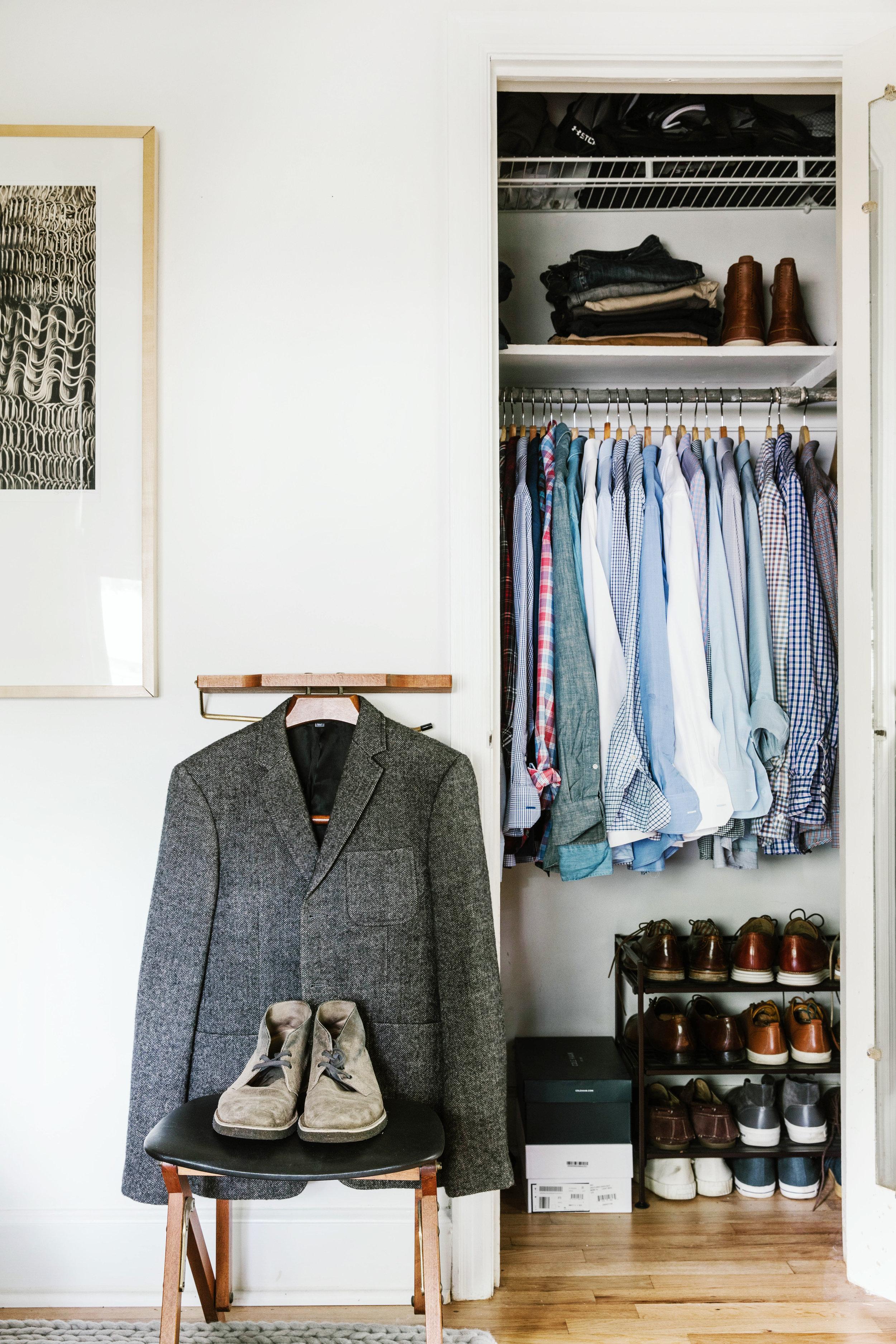 Bachelor Pad Debonair Closet