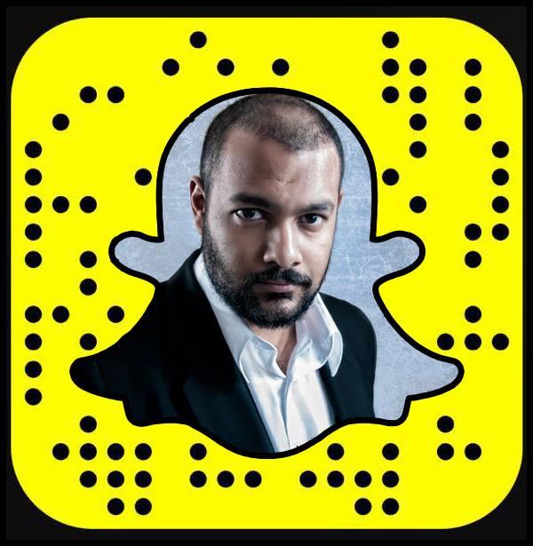 Follow on Snapchat @RajivSankarlall