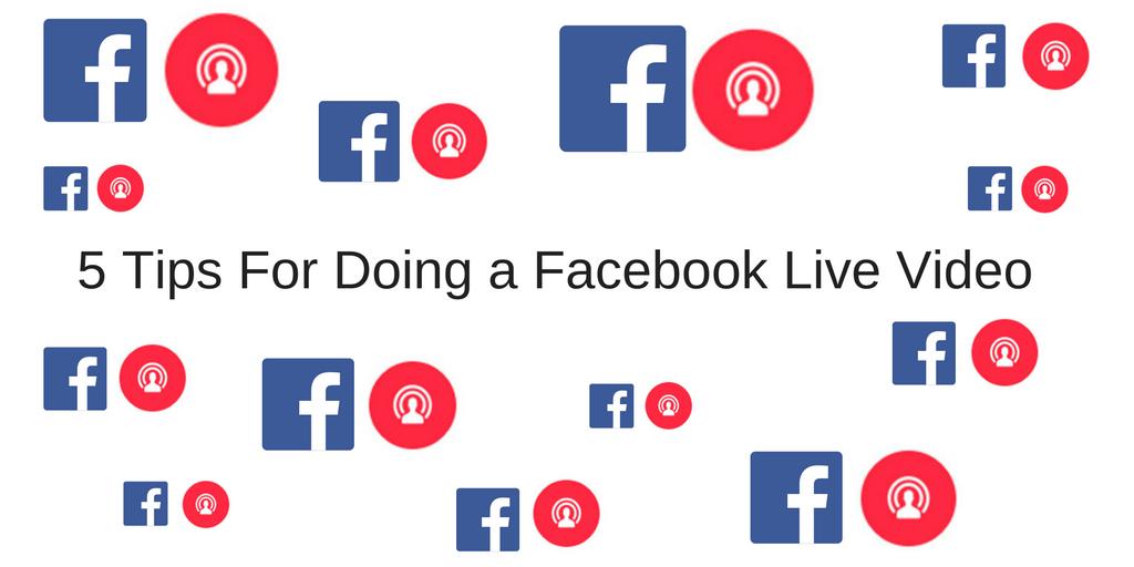 5 Tips For Doing a Facebook Live Video — Felicia Lin