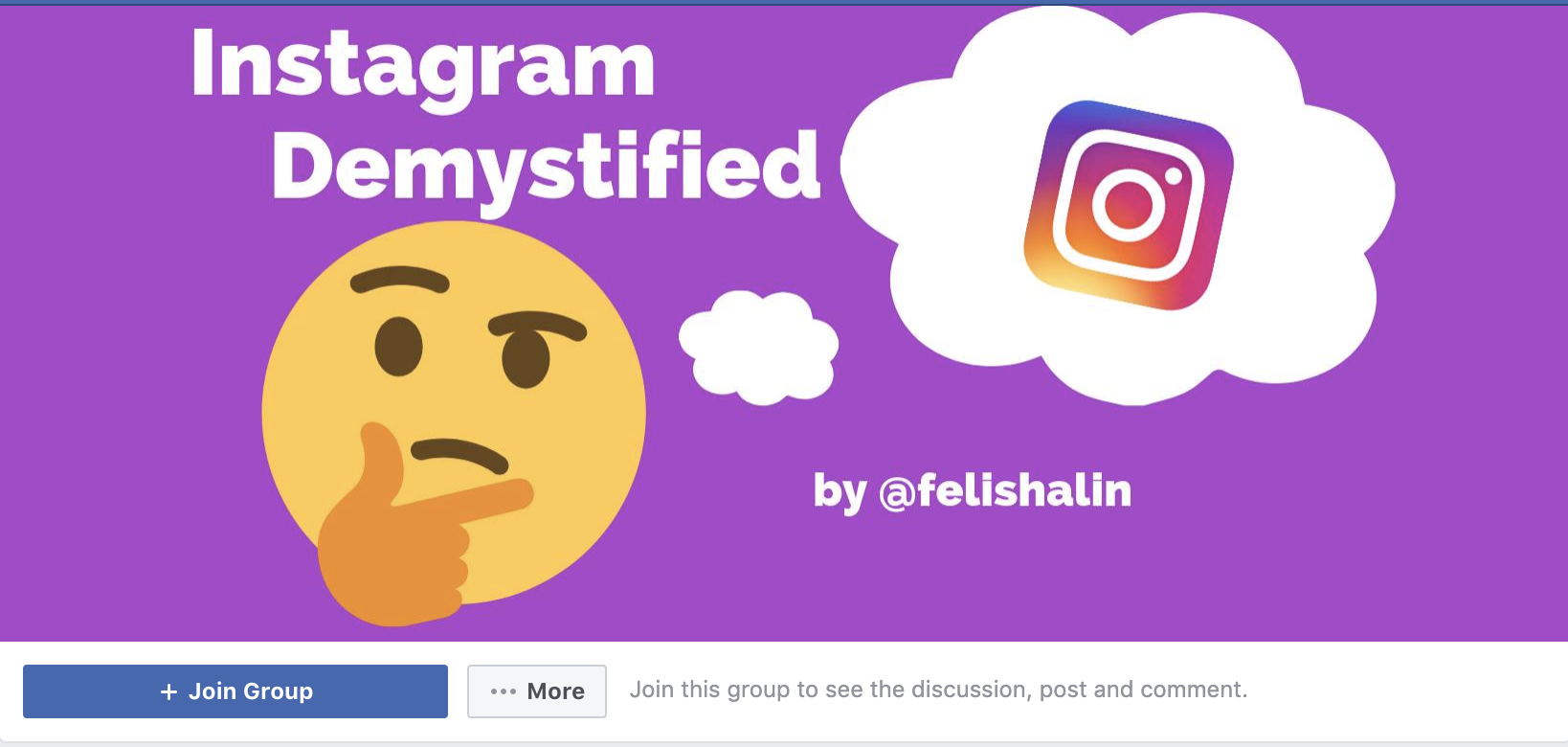 IG Demystified FB group screenshot.png