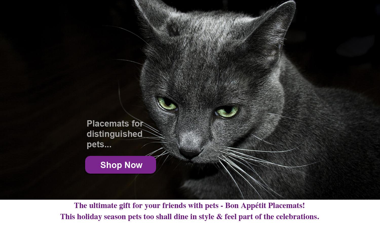 Bon Appetit Pet Placemats Black Cat.jpg