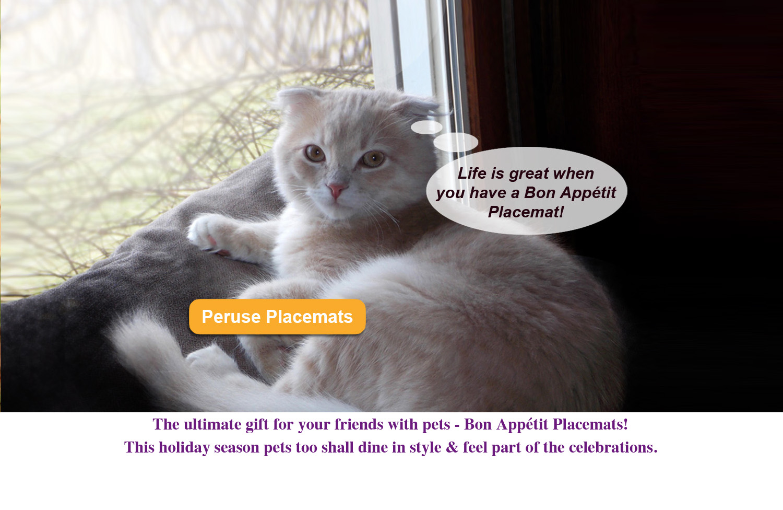 Bon Appetit Pet Placemats Life is great.jpg