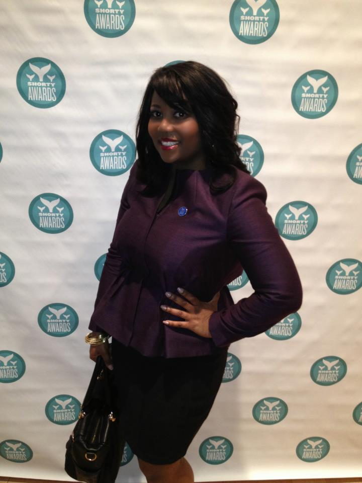Janét at the Shorty Awards Event 2013 held at the Times Square Centre
