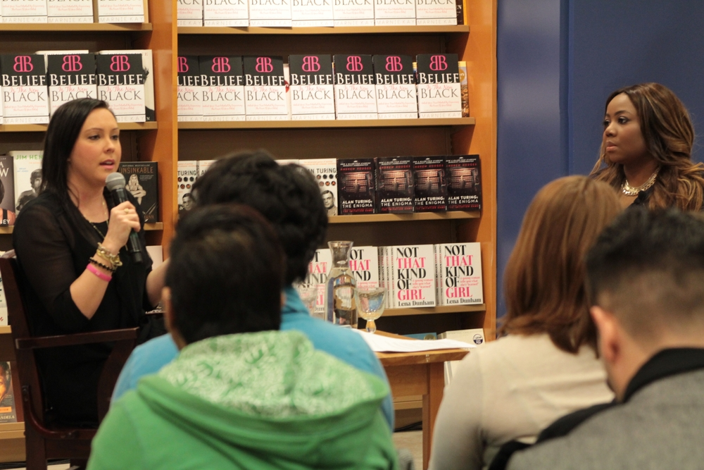 Marnie Kay, author of Belief Is The New Black, being interviewed by Janét, March 4, 2015