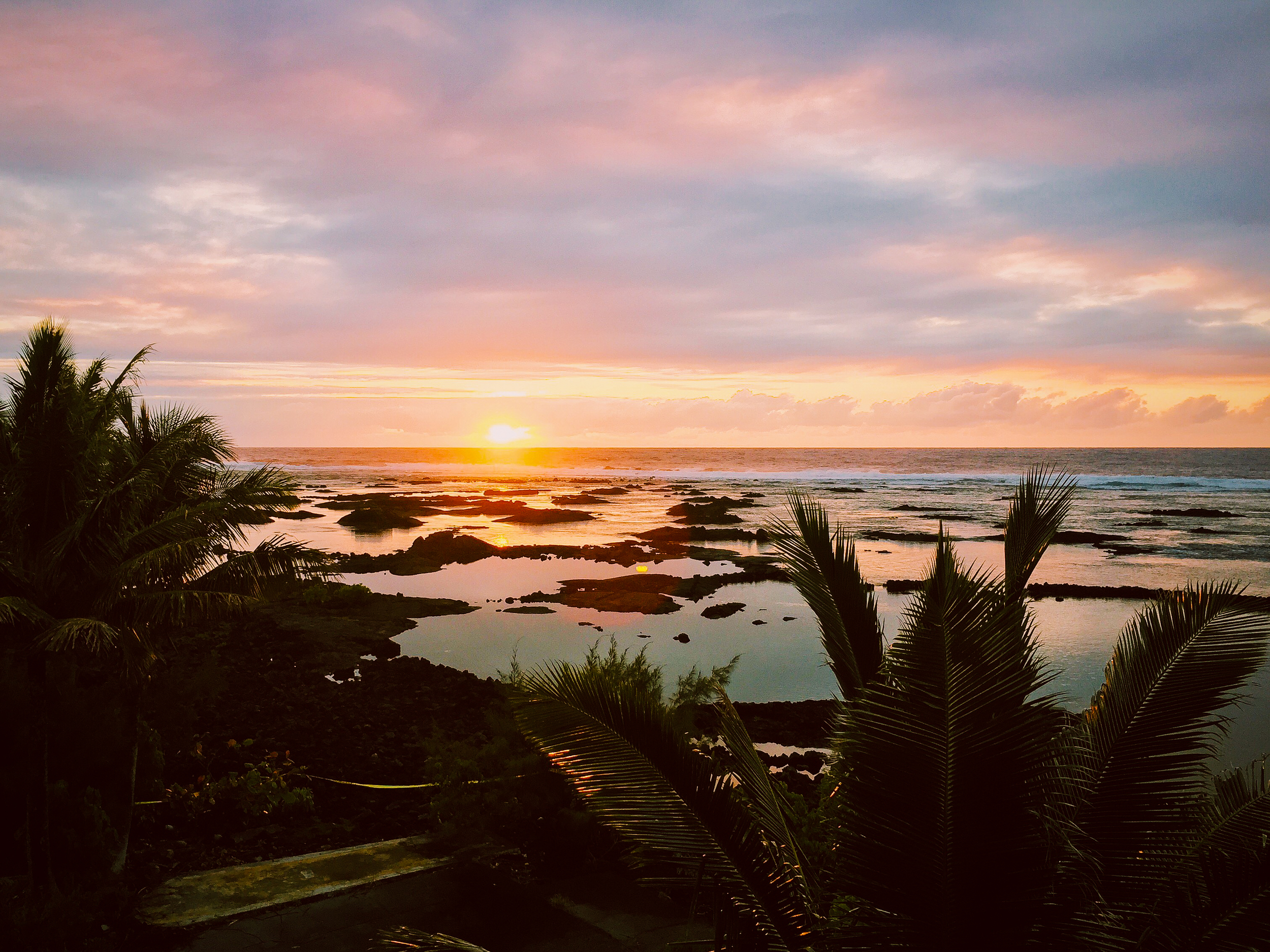 Sunrise over the Kapoho Tidepools
