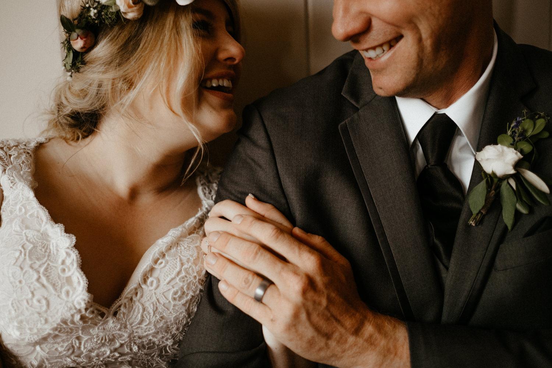 Newlyweds inside on rainy wedding day-10.jpg