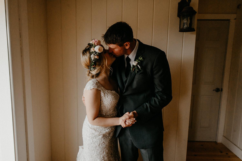 Newlyweds inside on rainy wedding day-2.jpg