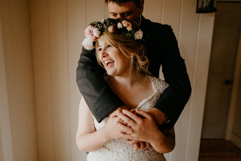 Newlyweds inside on rainy wedding day-3.jpg