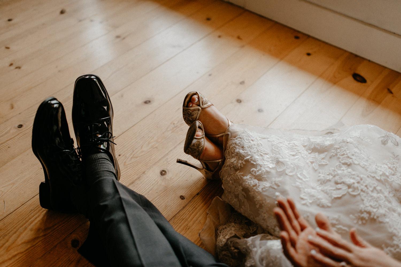 Newlyweds inside on rainy wedding day-4.jpg