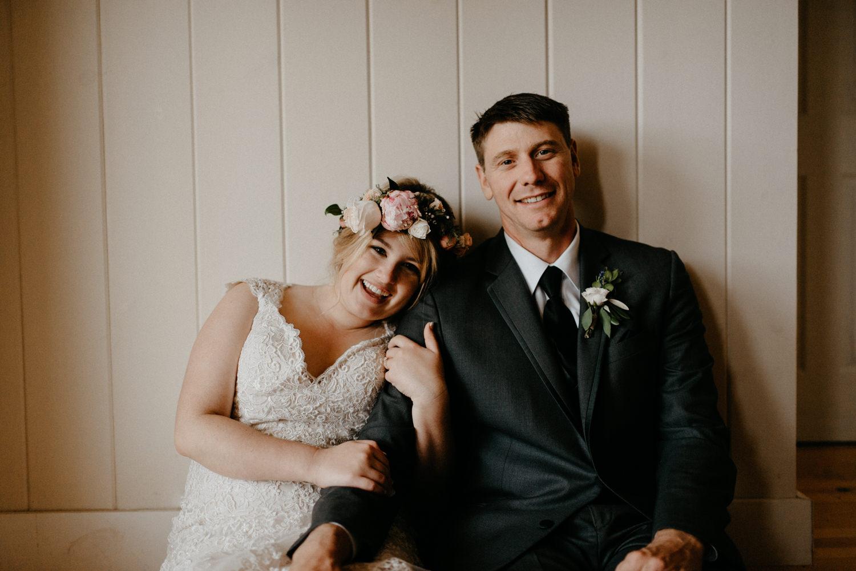 Newlyweds inside on rainy wedding day-5.jpg