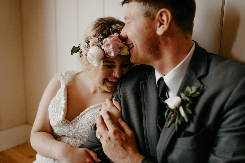 Newlyweds inside on rainy wedding day-7.jpg