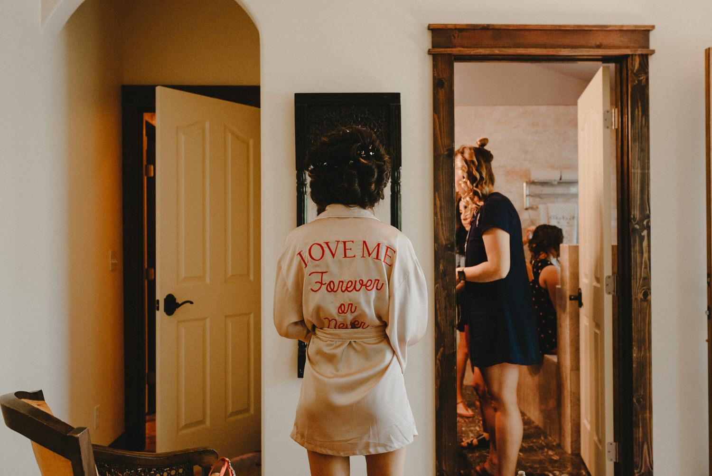 love me forever or never robe