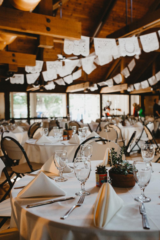 Dia De Los Muertos bridal details