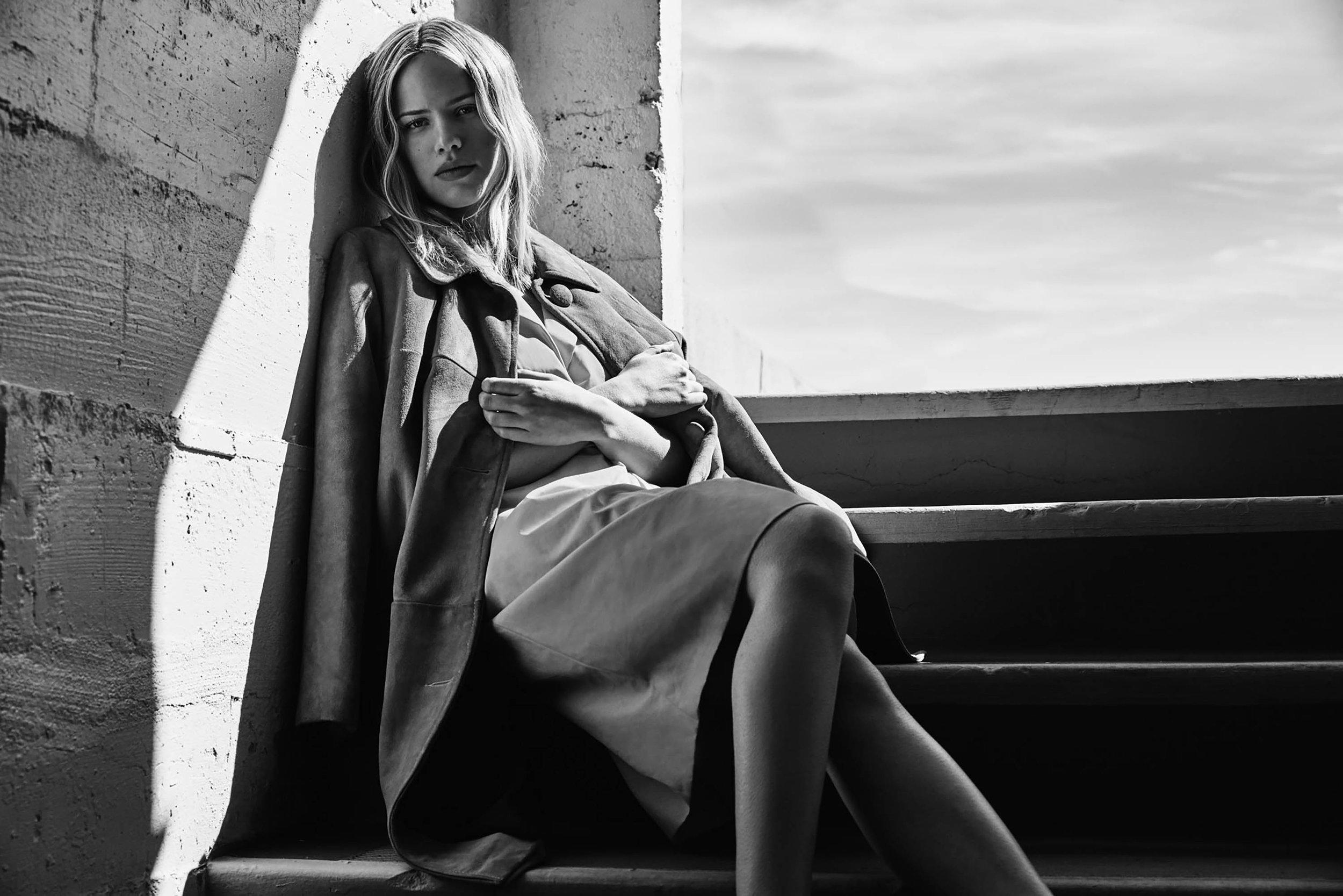 Dress by   ESCADA  , Coat Vintage, stylist's own