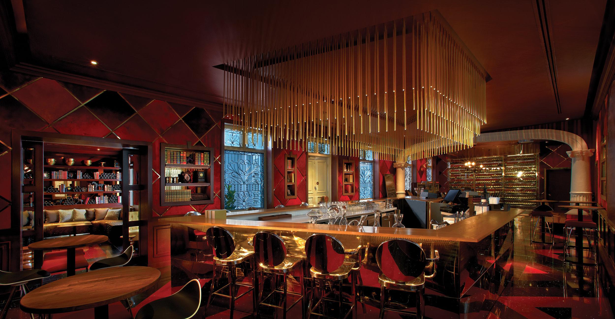 Bar at The Cellar