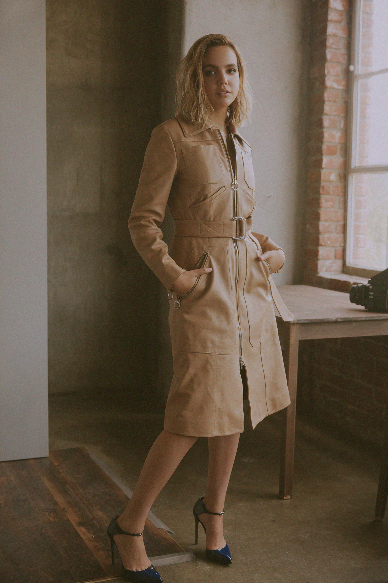 Coat by   BALLY  ; Shoes by   MARCO PROIETTI