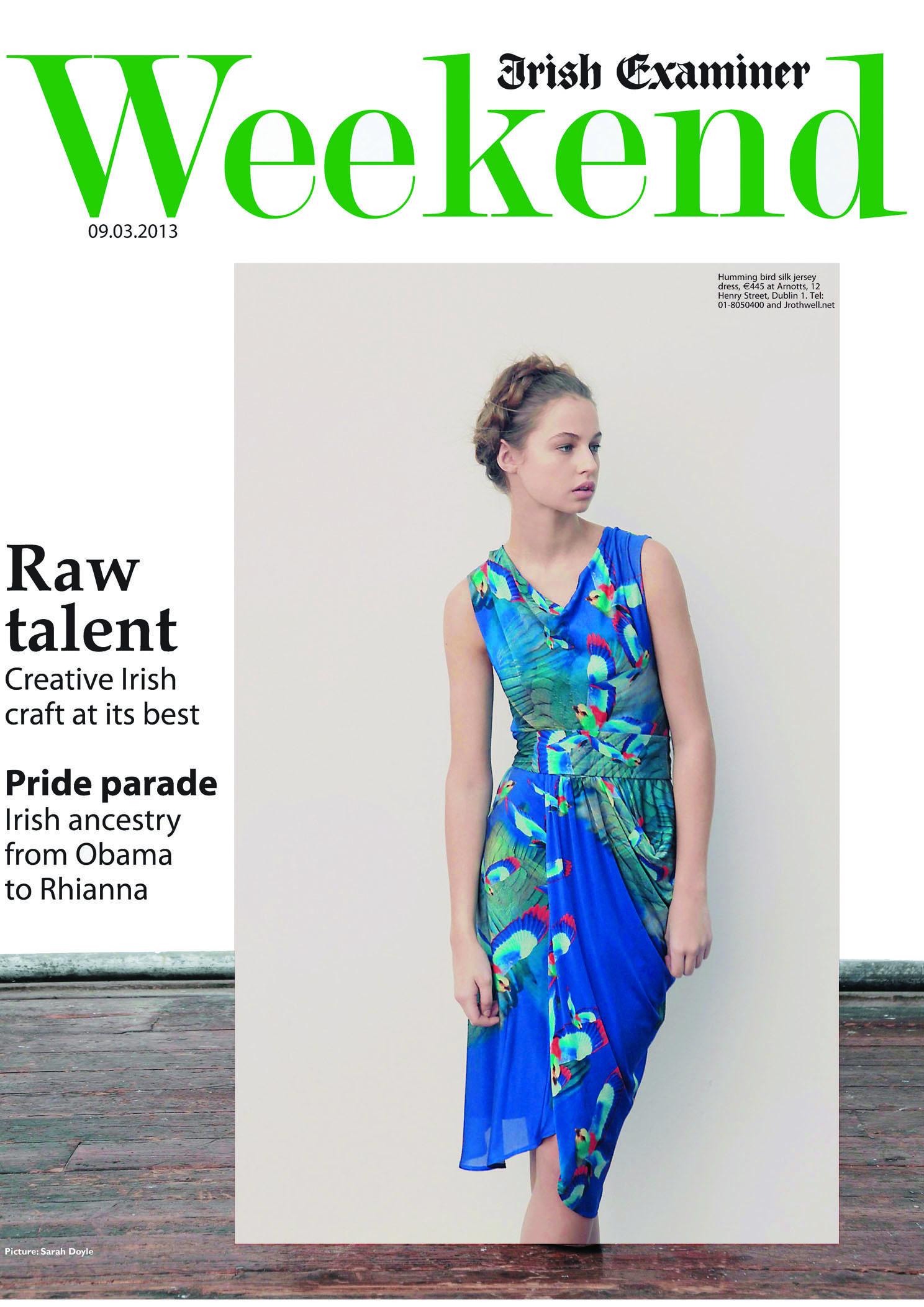 Irish Examiner Weekend, 9th March 2013