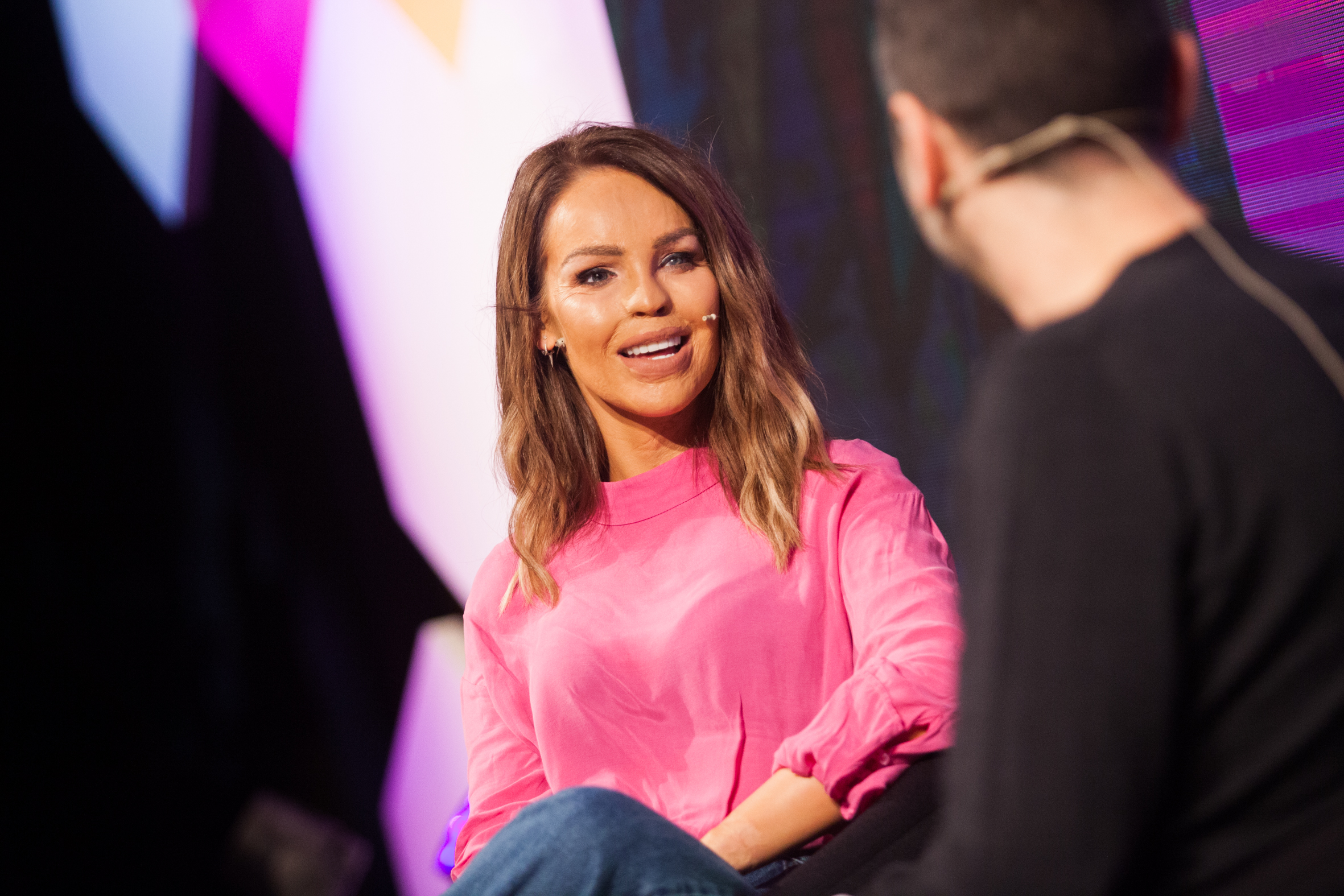 Katie Piper & panel at MAD//Fest conference