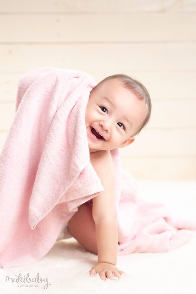 Chụp ảnh trẻ em. Ảnh: MAKI Baby