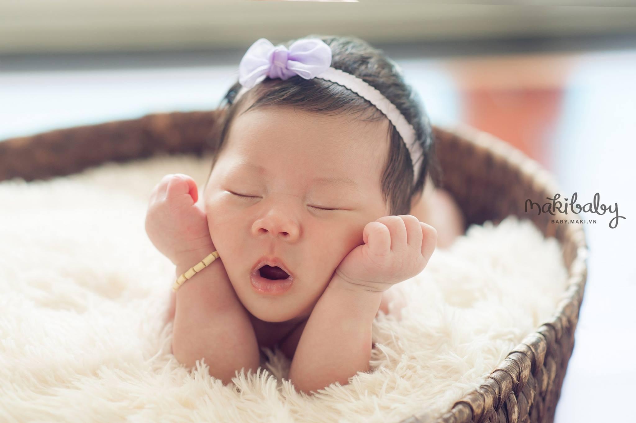 Chụp ảnh cho trẻ sơ sinh. MAKI Baby