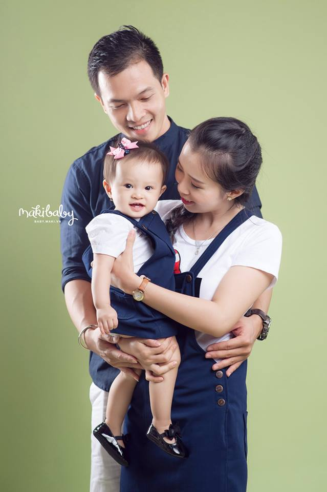 Chụp ảnh gia đình ở HCM. Ảnh: MAKI Studio