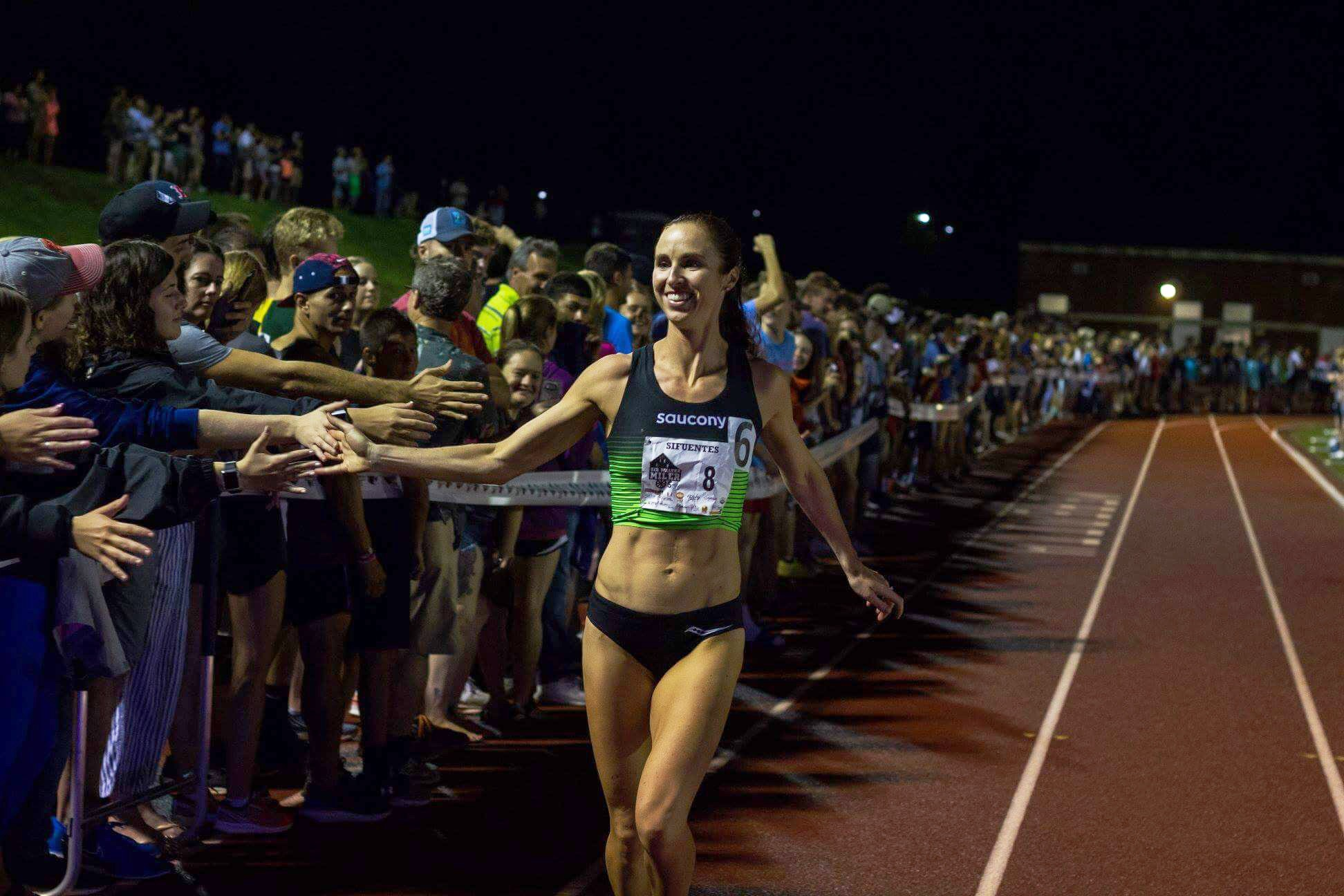 photo by J Honeycutt at the 2018 Sir Walter Miler