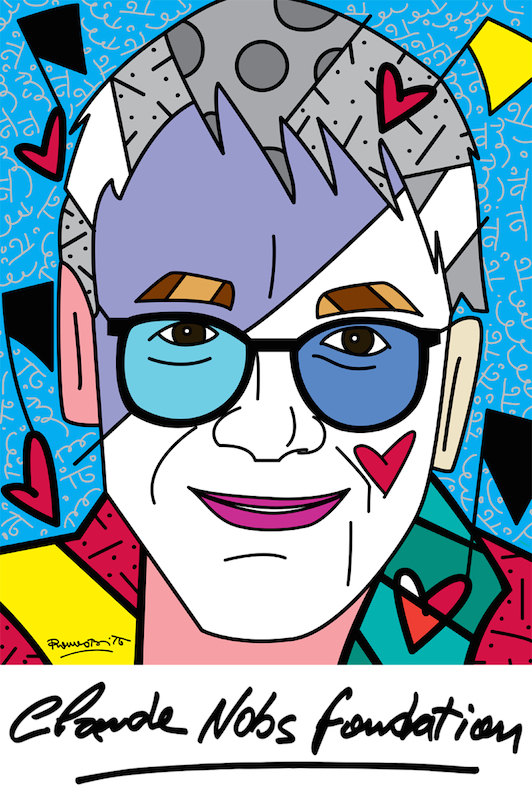 Claude Nobs Foundation    by Romero Britto