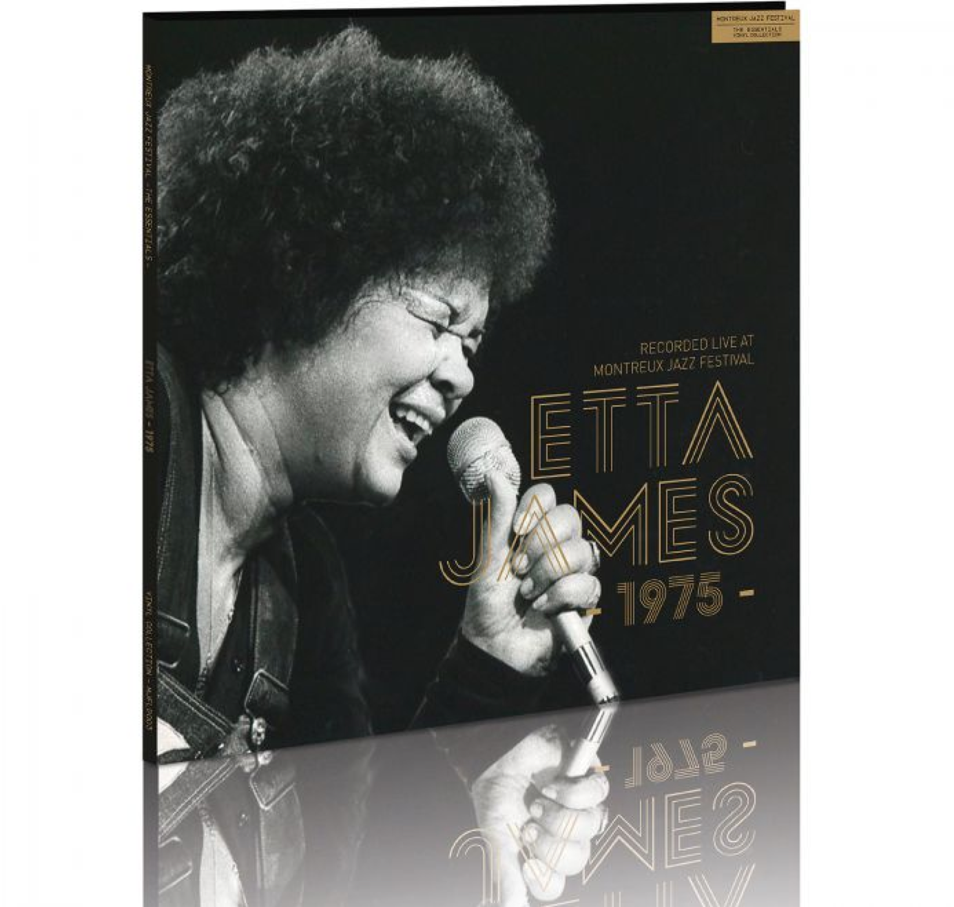 THE ESSENTIALS – Vinyl Collection    Etta James - 1975  - Recorded live at the Montreux Jazz Festival, 1975
