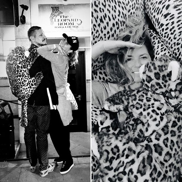 Shania Twain and my partner @mirko_manfredi at #leopardroom 🥂 Geneva. Great pictures by @fred_thiebaud.  Story by @shaniatwain #claudenobsfoundation #thierryamsallem #thierryfrommontreux @thierryfrommontreux