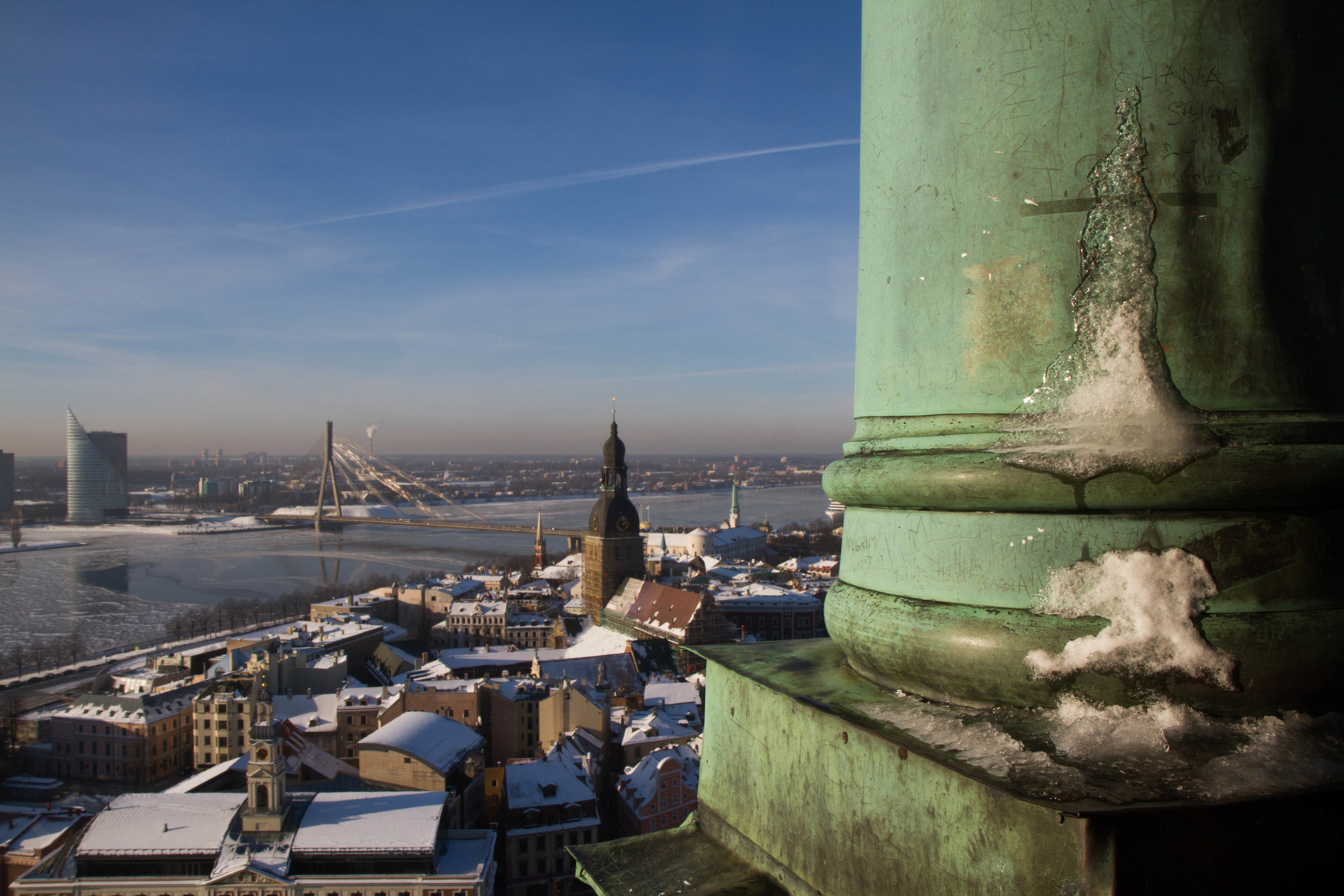 Looking Over Riga