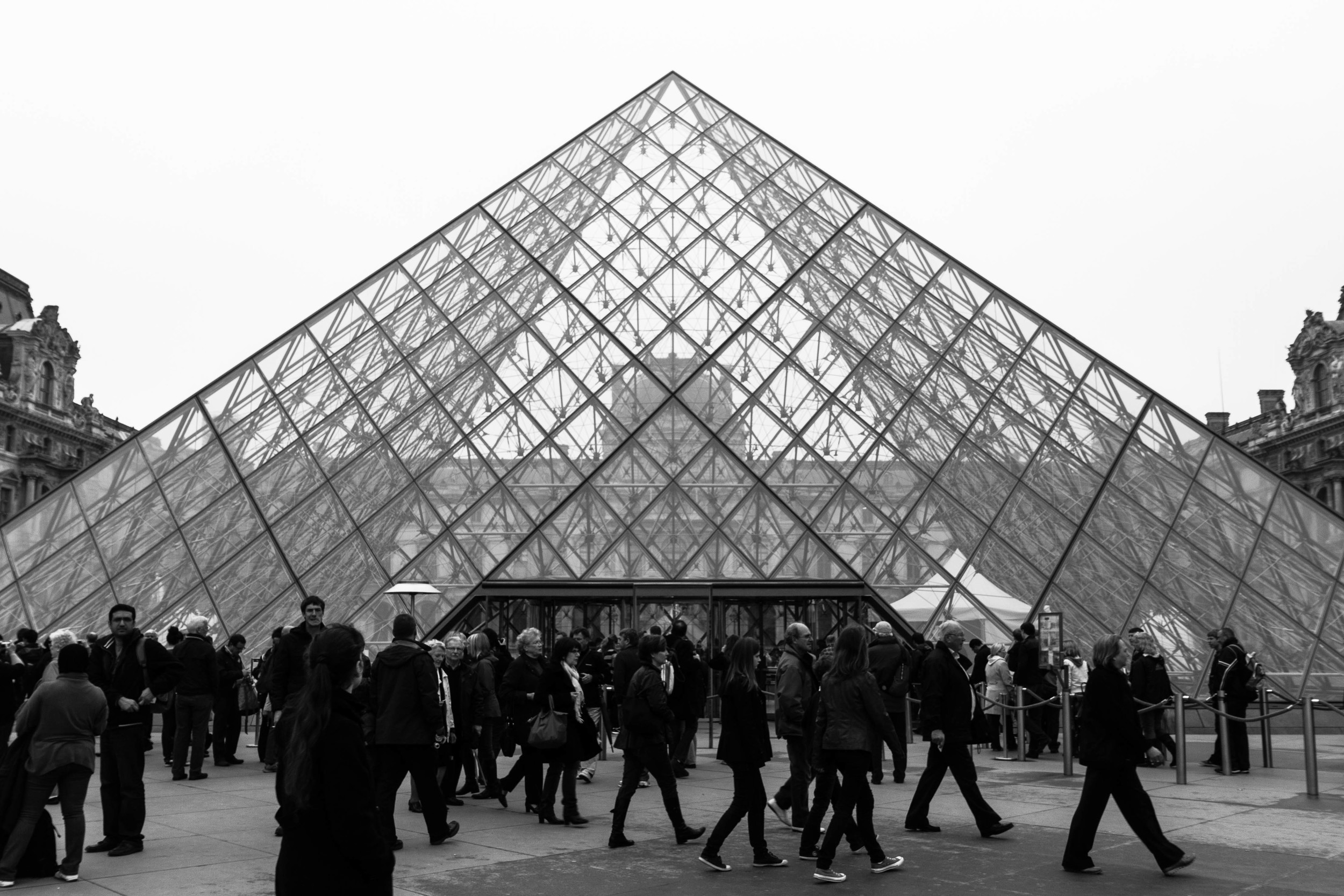 Pyramid in Paris